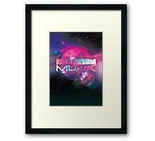 Creation Music Framed Print