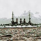The Battleship U.S.S. Minnesota 1907 - all products by Dennis Melling