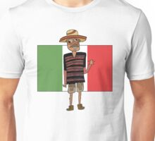 Mexican Cartoon Unisex T-Shirt