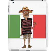 Mexican Cartoon iPad Case/Skin