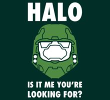 Halo is it me you're looking for? by Olipop