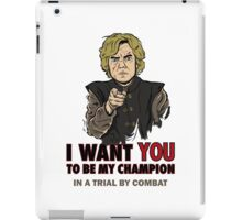 Uncle Tyrion iPad Case/Skin