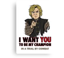 Uncle Tyrion Canvas Print