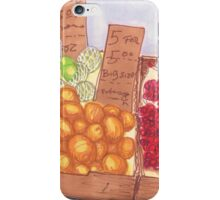 chinatown fruit stand 2 iPhone Case/Skin