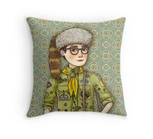 Sam from Moonrise Kingdom Throw Pillow