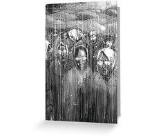 Rain III Greeting Card