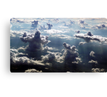 GIANTS IN THE CLOUDS Canvas Print