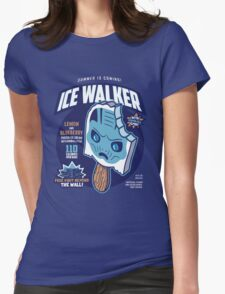 Ice Walker Womens Fitted T-Shirt