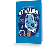 Ice Walker Greeting Card