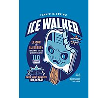 Ice Walker Photographic Print