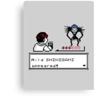 Wild Shinigami - Shinigamon shirt Canvas Print