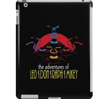 The Adventures of Turtle Brothers iPad Case/Skin