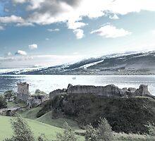 Urquhart Castle  by Alan Findlater