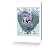 Maud Pie Valentine Greeting Card