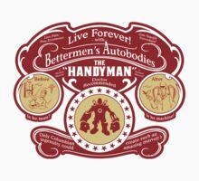 Handyman Autobodies (sticker) by Olipop