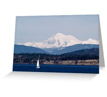 LET'S GO SAILING  Greeting Card