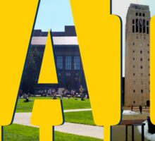 University of Michigan - Hail to the Victors! Sticker