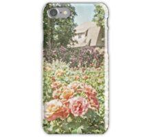 Vintage English Style Rose Garden iPhone Case/Skin