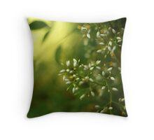 Thursday green Throw Pillow