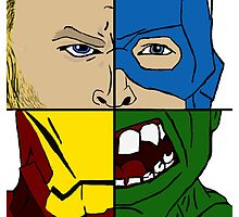Avengers Assemble  by farflungdreams