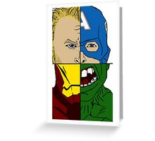 Avengers Assemble  Greeting Card