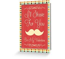 I'll Shave For You - BBC Sherlock Johnlock Valentine Greeting Card