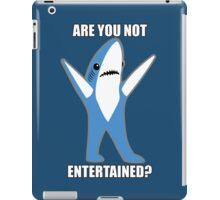 Katy Perry Half Time Performance Dancing Tsundere the Shark - Are you not entertained? iPad Case/Skin