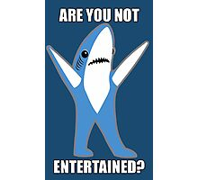 Katy Perry Half Time Performance Dancing Tsundere the Shark - Are you not entertained? Photographic Print