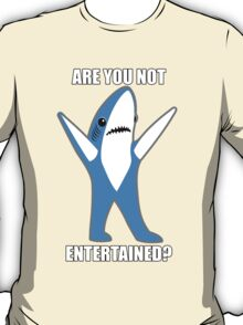 Katy Perry Half Time Performance Dancing Tsundere the Shark - Are you not entertained? T-Shirt
