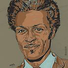 Chuck Berry by Suzanne  Gee