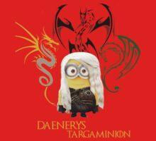 Daenerys trains her Dragons by minionsfanboy