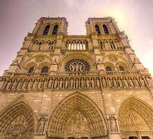 Notre Dame, Paris 2 by John Velocci