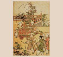 'Chinese Children' by Katsushika Hokusai (Reproduction) T-Shirt