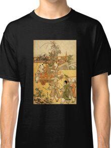 'Chinese Children' by Katsushika Hokusai (Reproduction) Classic T-Shirt