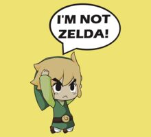 I'm Not Zelda Kids Clothes