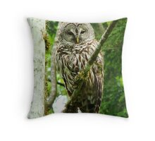 OWLETTE SAYING HELLO TO YOU Throw Pillow