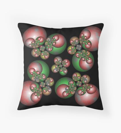 Holiday Baubles (FSK3218) Throw Pillow
