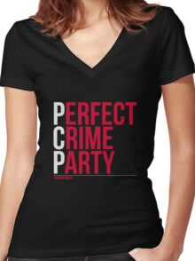 Perfect Crime Party PCP - Bakuman T-Shirt / Phone case 2 Women's Fitted V-Neck T-Shirt