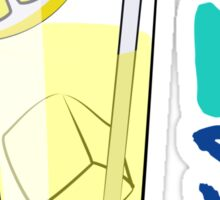 Thirsty? [Color Version]   Fresh Thread Shop Sticker