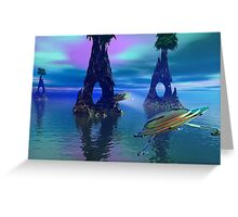 Water Arch Greeting Card