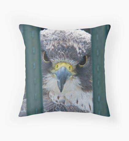 Jailbird Throw Pillow