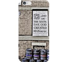 On the Sixth Day....... iPhone Case/Skin