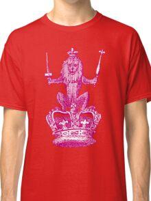 Lion Sceptre & Crown Classic T-Shirt