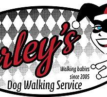 Harley's Dog Walking Service by adriawells