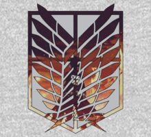 wings of freedom Kids Tee