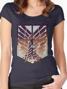 wings of freedom Women's Fitted Scoop T-Shirt
