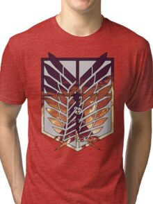 wings of freedom Tri-blend T-Shirt