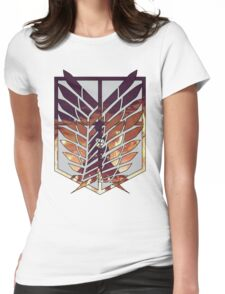 wings of freedom Womens Fitted T-Shirt
