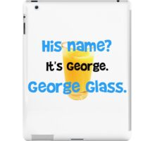 George Glass Brady iPad Case/Skin