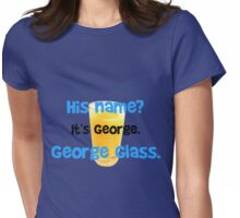 George Glass Brady Womens Fitted T-Shirt